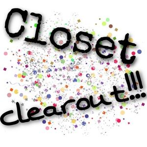 Closet clearout!!!!!!